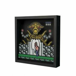 Contra Pixel Frame – 9x9in. Decorative Shadow Box for Wall