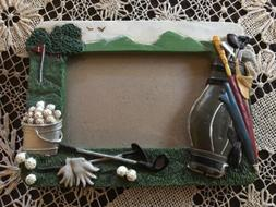 Russ Golf Shadowbox Picture Frame 4x6 Photo New Great Gift F