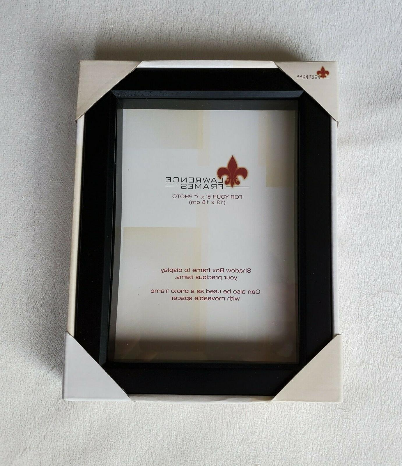 lot of 9 new shadowbox frame gallery