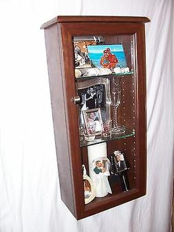 Wall Mount Handcrafted Display Case/Shadow Box